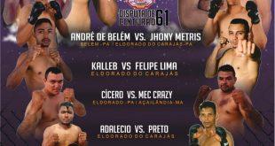 Escorpião Rei conquista o cinturão dos galos na segunda edição do MMA Show Fight