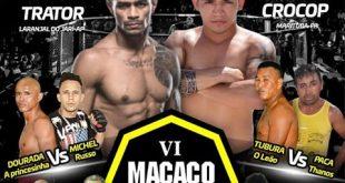 Bruno Crocop encara Thiago Trator no Macaco Fight 6 em Macapá