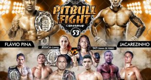 Confira os resultados do Pitbull Fight Championship 53
