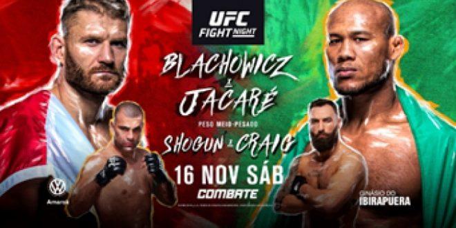 Ronaldo Jacaré, Maurício Shogun e Do Bronx lideram 'legião brasileira' em card do UFC São Paulo