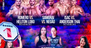 7 Luzi Fight MMA  acontece nesta sexta em Sta Luzia(Pa)