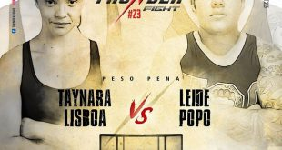 Leide Popo confirmada no Thunder Fight 23