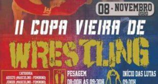 II Copa Vieira de Wrestling acontece neste domingo