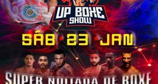 Up Boxe show  acontece neste sábado na academia Ulysses Pereira com Henrique Demolidor e Leonardo Vasconcelos