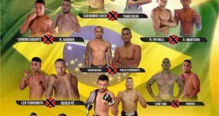 Fera Combat realiza a sua primeira edição em Tailândia com vitória de Thiago Silva na luta principal